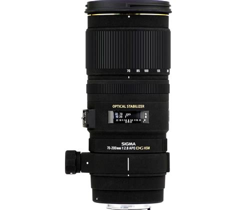 Sigma Canon buy sigma 70 200 mm f 2 8 ex dg os hsm telephoto zoom lens for canon free delivery currys
