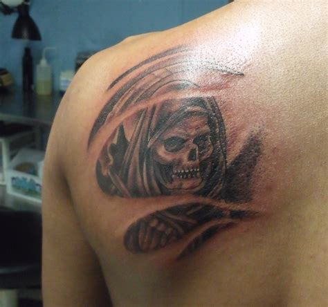 angel death tattoo