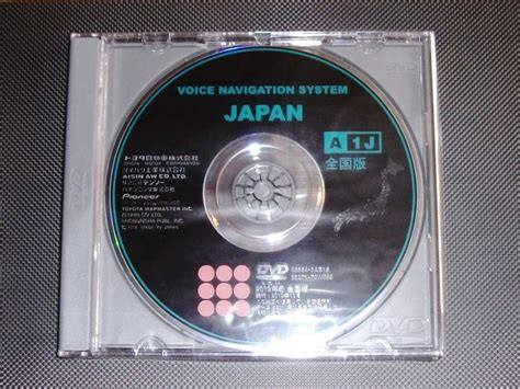 e d a1j загрузочный диск с картой японии toyota voice navigation