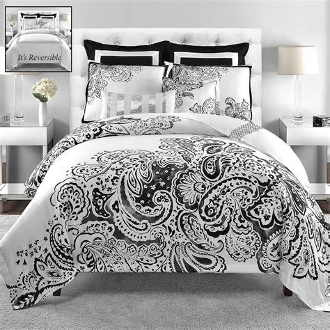 comforter set black and white interesting black and white comforter set in a good design