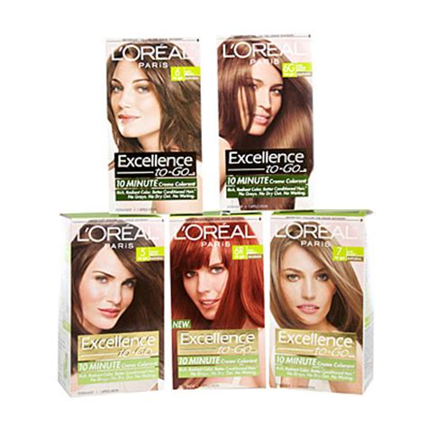 view l or 233 al 174 excellence to go 10 minute cr 233 me hair colorant deals at big lots