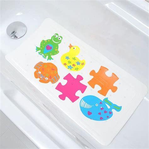 tapis de baignoire anti moisissure tapis de fond de baignoire anti d 233 rapant enfant color 233