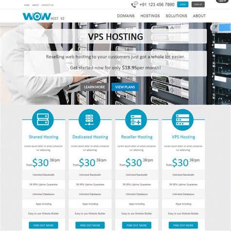 Responsive Wordpress Web Hosting Templates Themes Whmcs Order Form Templates Free