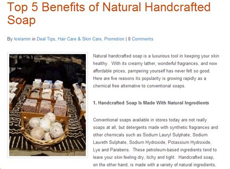 Why Handmade Soap Is Better - high quality handmade soap a better cleaning