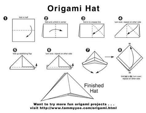Folding Paper Hats - how to make a pirate hat 223 11 kb how to make a paper