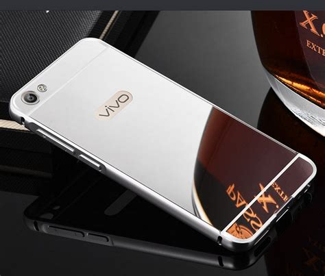Vivo V5 Luxury Mirror Clear View Flip Cover Flipco Murah luxury aluminium metal bumper acrylic mirror back cover vivo v5 v5s y67 ebay