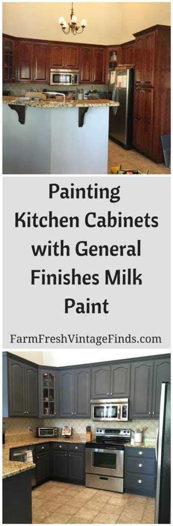 how hard is it to paint kitchen cabinets painting kitchen cabinets with general finishes milk paint farm fresh vintage finds