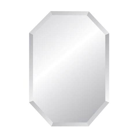 20 x 30 bathroom mirror regency octagon 20 x 30 beveled edge mirror spancraft wall