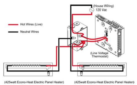 electric baseboard heaters always on electrical diy