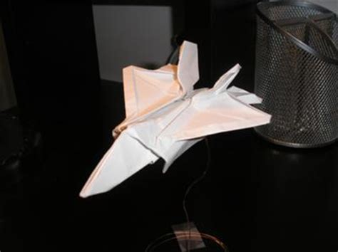 Origami F 22 Raptor - your origami photos