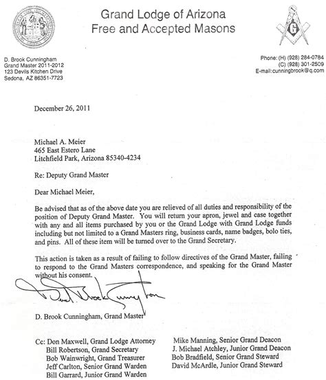 application letter to join freemasonry freemasons for dummies trouble in arizona