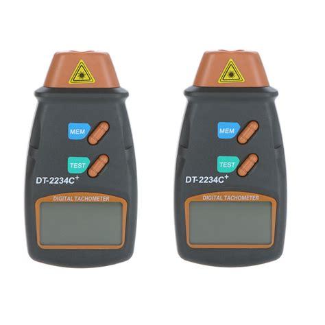 Digital Laser Tachometer Rpm Meter Recording Ukur Termasuk Baterai digital laser po tachometer non contact rpm tach digital rotation speed meter revolution counter