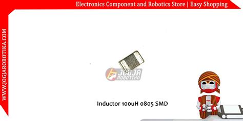 inductor smd 100 jual inductor 100uh 0805 smd