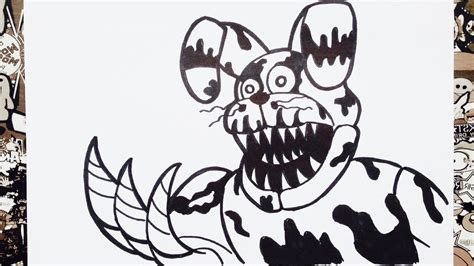 five nights at freddy s coloring book great coloring pages for and adults unofficial edition books como dibujar a nightmare bonnie de five nights at freddy s