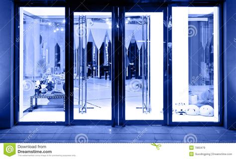 Glass Door For Shop Shop Glass Door Royalty Free Stock Images Image 7960479