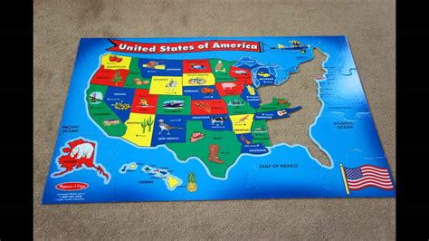 american states puzzle 2 united states puzzle stop motion
