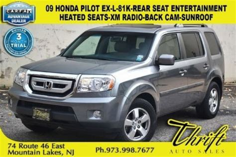 free service manuals online 2002 honda pilot seat position control find used 09 honda pilot ex l 81k rear seat entertainment heated seats xm radio back cam in
