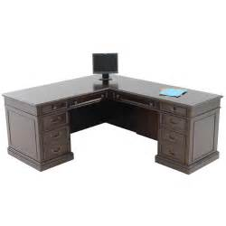 Desk L Shaped El Dorado Furniture Wellington 66 Quot L Shaped Desk