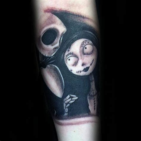 jack and sally tattoos 100 nightmare before tattoos for design ideas