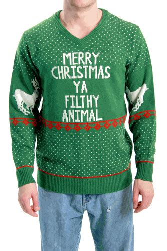 filthy animal ugly christmas sweater holycoolnet