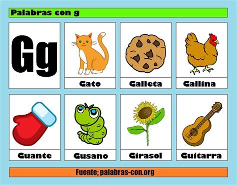 Imagenes Que Empiecen Con La Letra Ga | resultado de imagen para imagenes con la letra g memmy