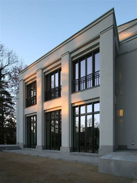 klassische moderne architektur sober neo classical architecture by vogel architekten