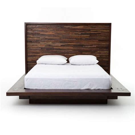 wood king platform bed best 25 king platform bed frame ideas on pinterest