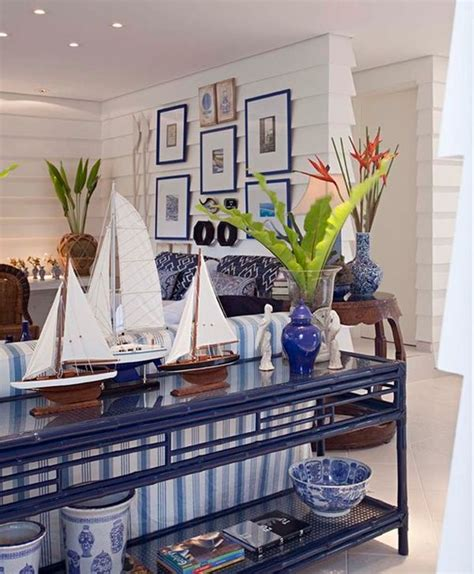 marine decorations for home cool blue living room ideas