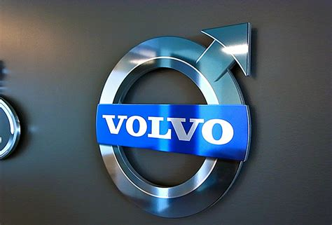 office signs custom wall business signs  signs metal signs  office wall volvo
