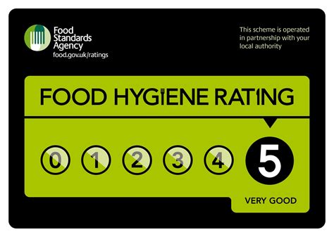 food ratings food hygiene rating 5