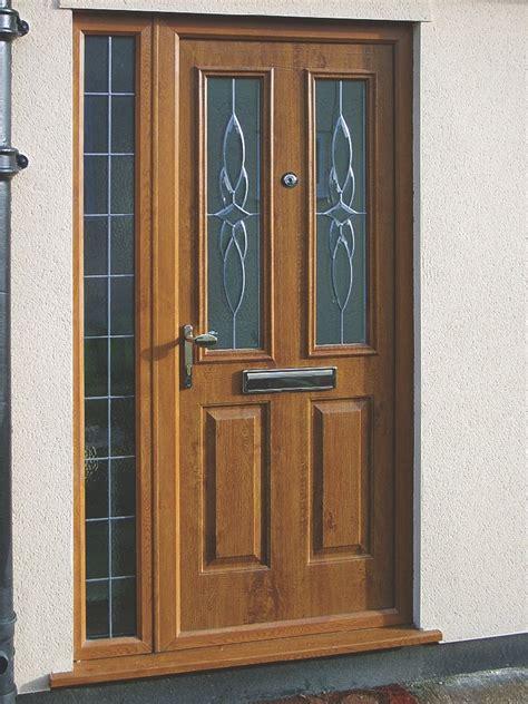Brown Upvc Front Door Brown Upvc Front Door Upvc Doors Rhino Building Solutions Upvc Oak Brown Front Door 163 5 00