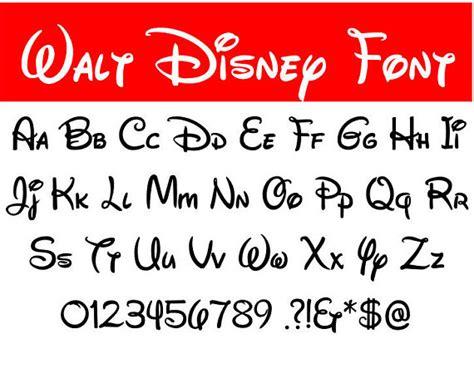 lettere alfabeto disney walt disney font svg walt disney letters alphabet disney