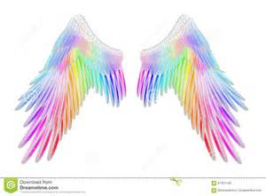 colored wings wings stock illustration image of abstract coulor