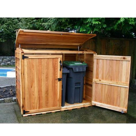 garbage sheds for trash cans webnuggetz