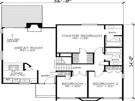 Contemporary Homes Floor Plans by Modern 2 Story House Floor Plan 3 Story Contemporary Homes