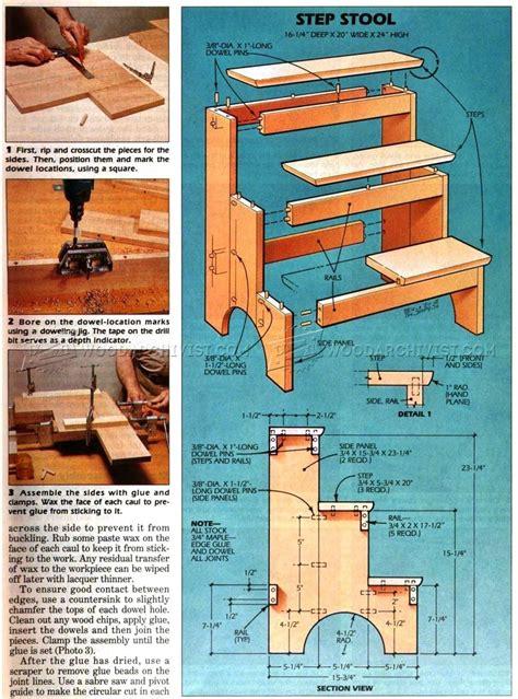 kitchen step stool ideas wooden kitchen