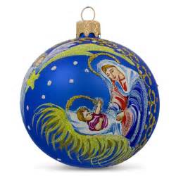 shooting star glass ball religious christmas nativity