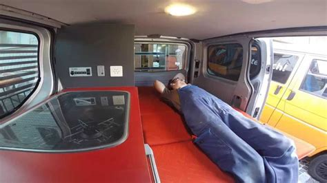 renault van interior cer conversion renault trafic by custom cers youtube