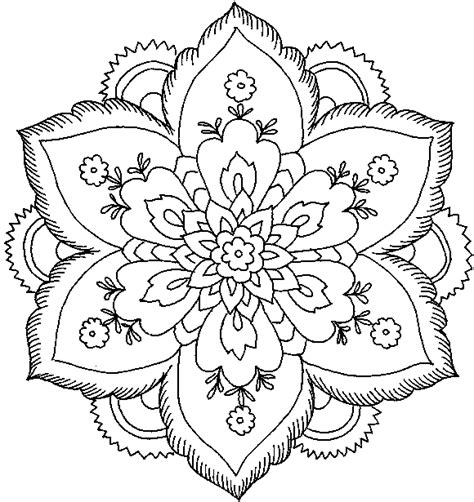 hard rose coloring pages difficult flower coloring pages getcoloringpages com