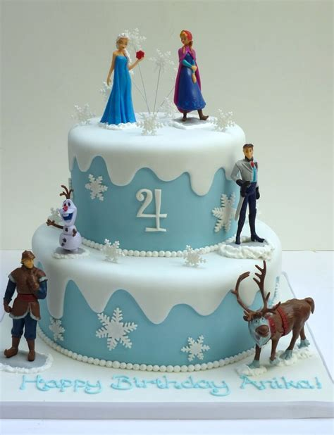 25  best ideas about Frozen birthday cake on Pinterest