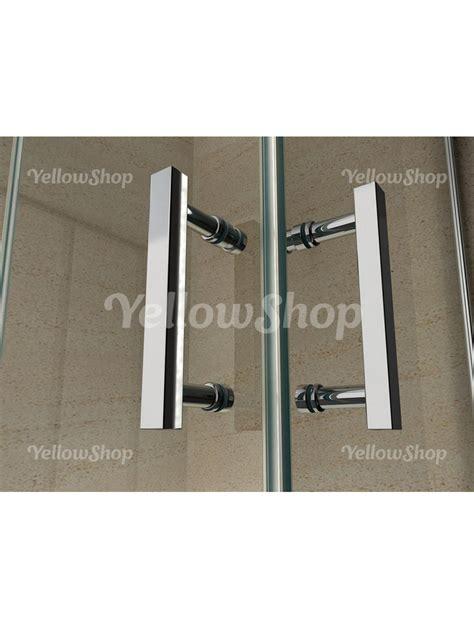 misure box doccia rettangolari box doccia rettangolare in cristallo trasparente 6mm h 195 cm