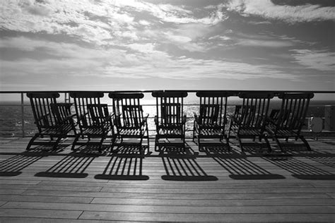deck chairs on the titanic and other sun traps to avoid