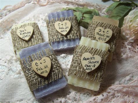 Handmade Favors - bridal shower favors soaps mini soaps organic by