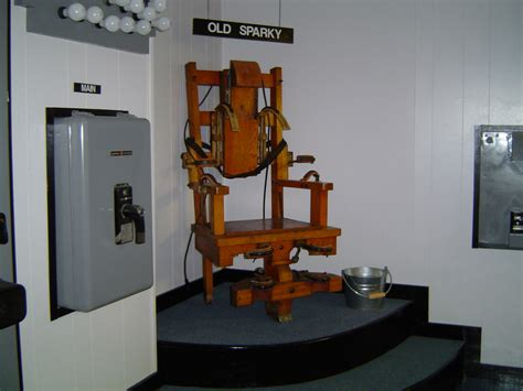 Florida Electric Chair by Sparky This Is The Actual Electric Chair That Was