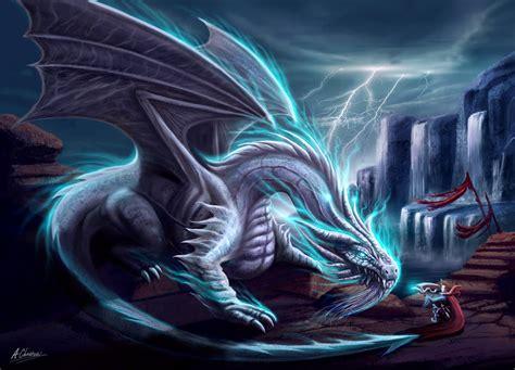chinese water dragon lighting white lightning dragon by anthonychristou on deviantart