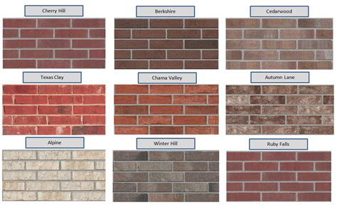 brick colors for homes exterior house color schemes with brick