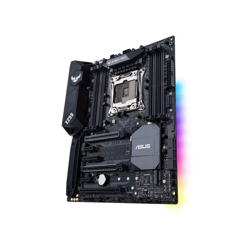Asus Tuf X299 2 Socket Fclga 2066 Intel asus tuf x299 2 carte m 232 re asus sur ldlc