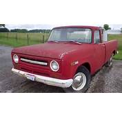 1969 IH International Harvester Pickup Truck Upper