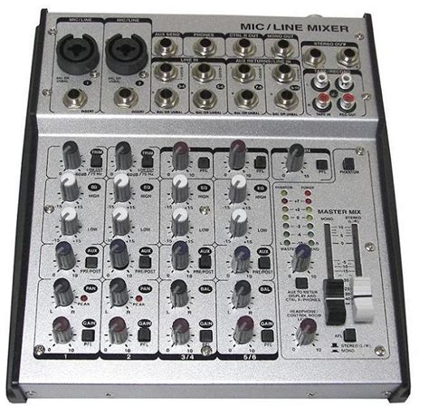 Mixer Audio Made In China china professional mixer audio mixer console jsc 10