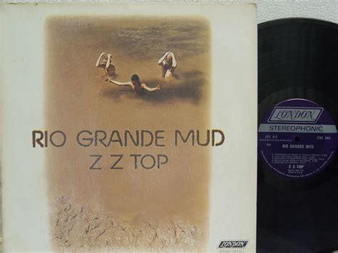 lot detail zz top billy gibbons signed quot grande mud zz top album country rock zz top